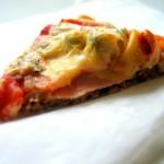 Pizza na otrębowym spodzie, mowa o Dukanie