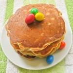 Pancakes z m&m's