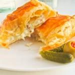 Ciasto francuskie z serem pleśniowym
