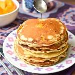 Placuszki z owocami (pancakes)