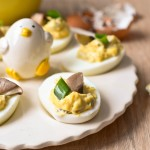 Jajka faszerowane (nadziewane) pieczarkami