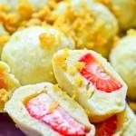Knedle z truskawkami (knedle ziemniaczane z owocami)