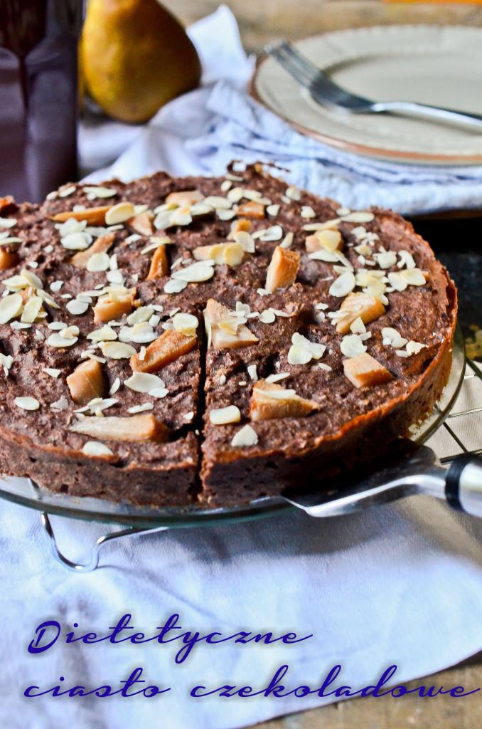 dietetyczne ciasto czekoladowe-2