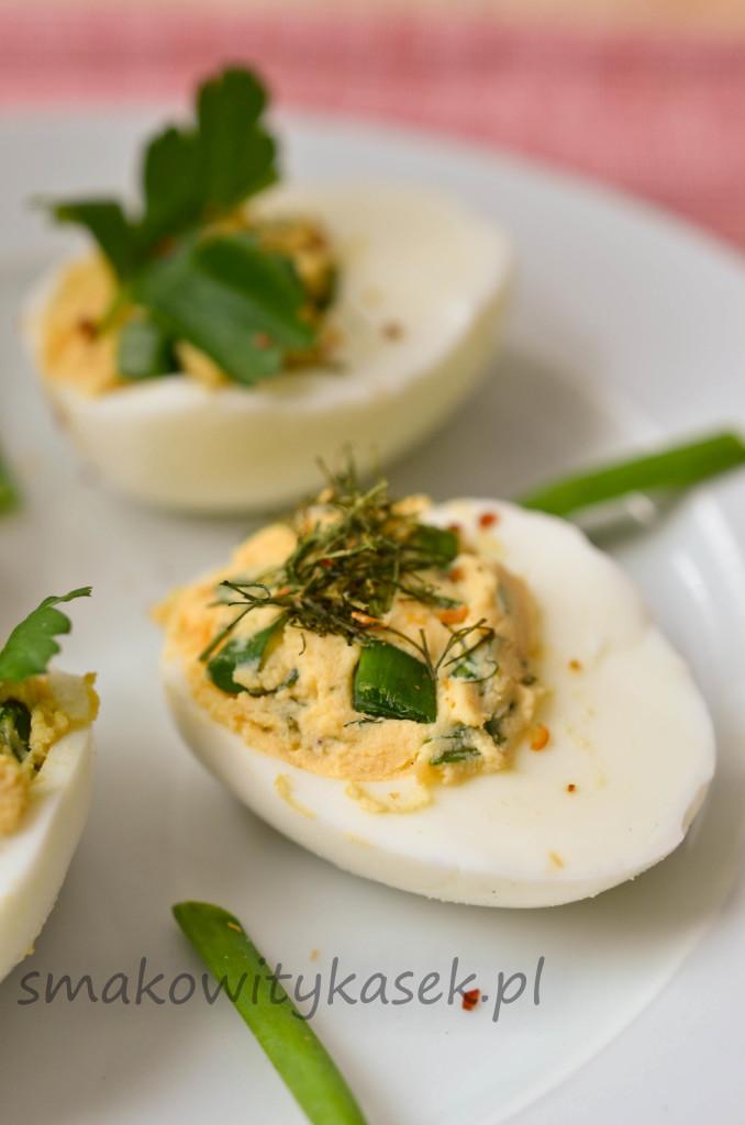 jajka faszerowane ziolami