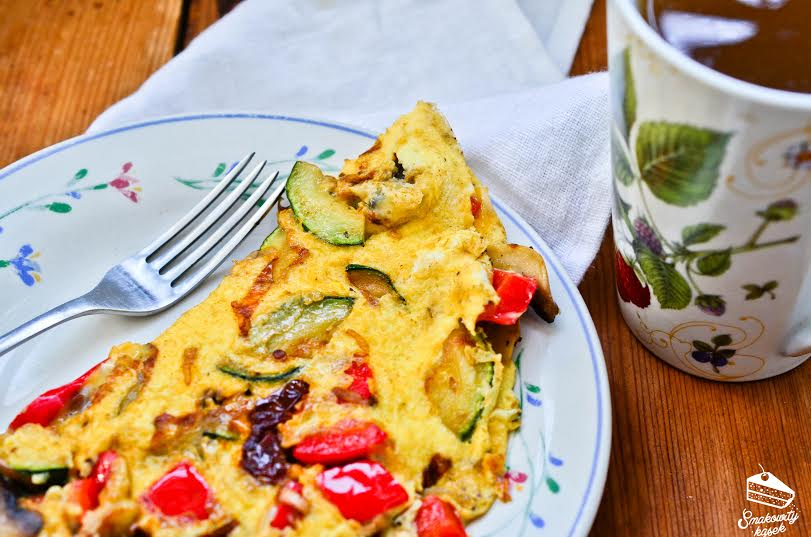 omlet z warzywami 2