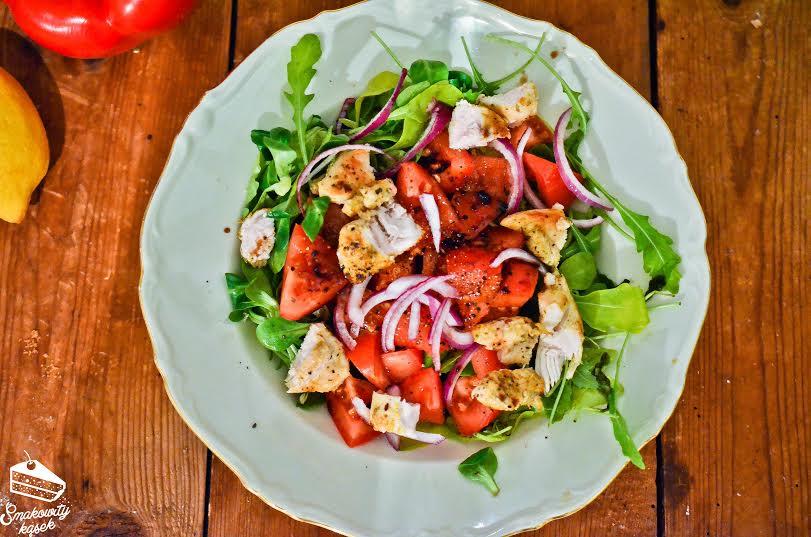 salatka z kurczakiem 2