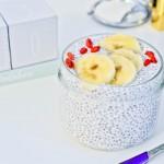 Pudding chia z bananem