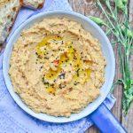 Hummus z pieczonym burakiem